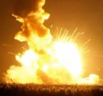 Antares launch failure on Orb-3 mission (NASA)