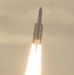 Ariane 5 launch of GSAT-17 and Hellas-Sat 3 (Arianespace)