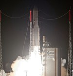 Ariane 5 ECA launch of Skynet 5D and Mexsat Bicentenario (Arianespace)