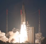 Ariane 5 ECA launch of Eutelsat 21B and Star One C3 (Arianespace)