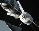 ATV-3 docking with ISS (NASA)