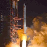 Long March 2C launch of Yaogan satellites, Nov. 2017 (Xinhua)