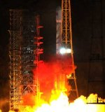 Long March 3B launch of Compass M3 and M4 (Xinhua)