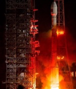 Long March 3C launch of Beidou satellite, March 2015 (Xinhua)