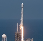 Falcon 9 launch of BulgariaSat-1 (SpaceX)