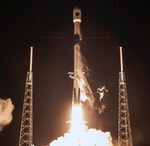 Falcon 9 launch of GPS 3 SV04 (SpaceX)