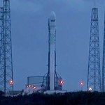 Falcon 9 v1.1 before SES-8 launch