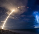 Falcon 9 Starlink launch, mid-June 2020 (SpaceX)