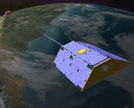 GRACE Earth science satellite illustration (NASA
