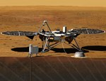 InSight lander illustration (NASA)