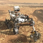 Mars 2020 rover illustration (NASA/JPL)