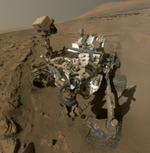 Curiosity self portrait, June 2014 (NASA)