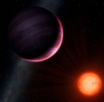 NGST-1b exoplanet illustration (Univ. of Warwick)