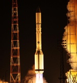 Proton M launch of Express-AM6 (Roscosmos)