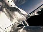 SpaceShipTwo on 2019 February 22 test flight (Virgin Galactic)
