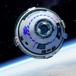 CST-100 Starliner in orbit (Boeing)