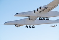 Stratolaunch plane first flight (Stratolaunch)