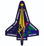 STS-107 patch (NASA)