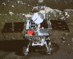 Yutu on surface (Xinhua)